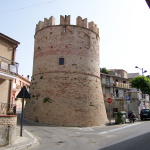 Medieval Tower in-town in Italy where my family is from