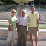 with cousin Umberto in Chieti, Ambruzzo, Italy