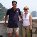 Joe and Carolyn on Isle Di Capri
